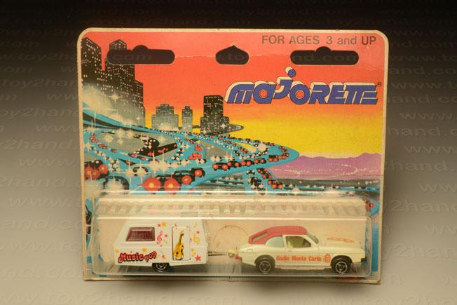 รถเหล็ก Majorette No.368 Ford Capri และรถพ่วง Carawan St.Tropez