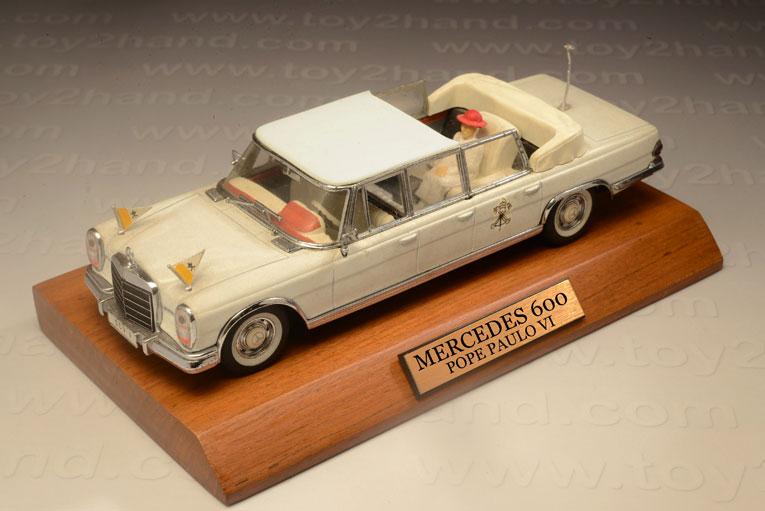 รถเหล็ก Vitesse No.L081 Mercedes 600 Pope Paulo VI