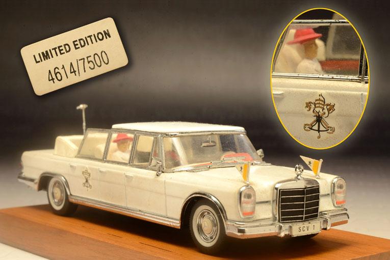 รถเหล็ก Vitesse No.L081 Mercedes 600 Pope Paulo VI 2