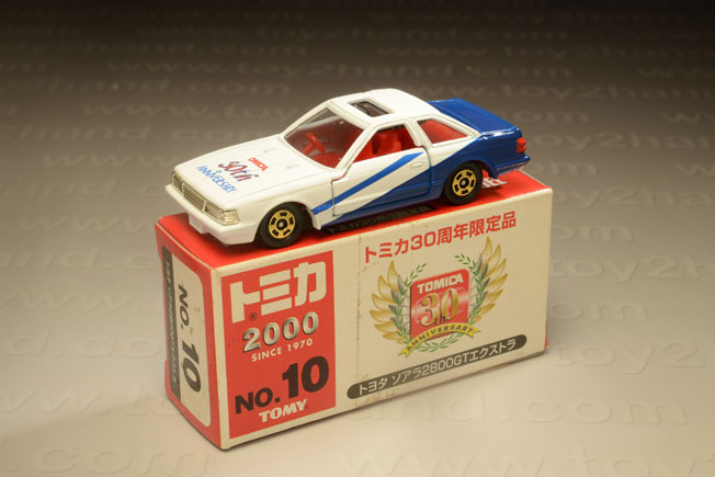 รถเหล็ก Tomica No.10 (5) Toyota Soarer 2800 GT