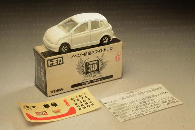 รถเหล็ก Tomica ไม่ระบุหมายเลข ( No.110) Toyota Vitz (Yaris)