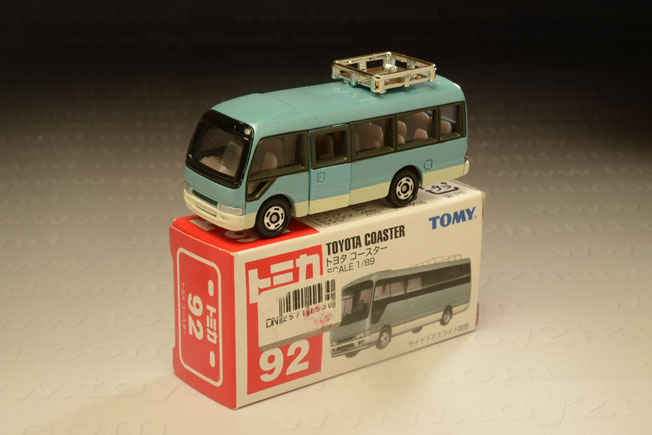 รถเหล็ก Tomica No.92 Toyota Coaster