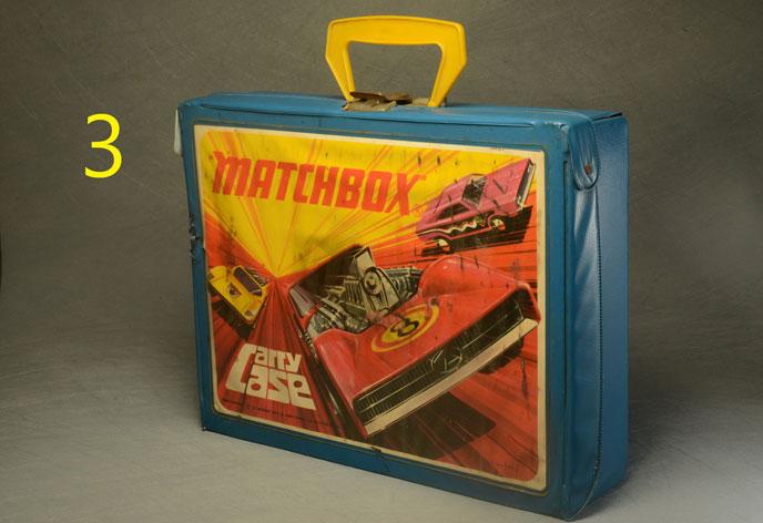กล่องใส่รถเหล็ก Matchbox Case
