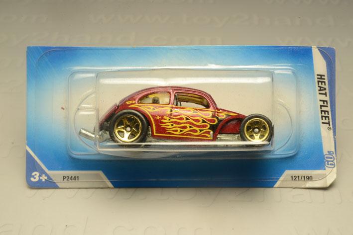 รถเหล็ก Hot Wheels No.121/190  Custom VW Beetle