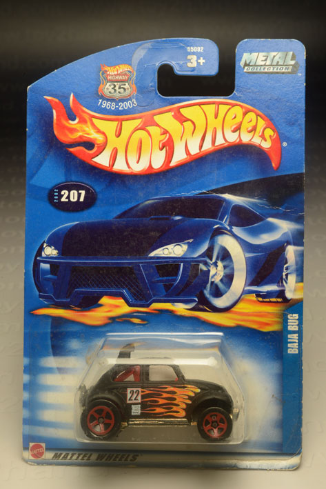 รถเหล็ก Hot Wheels No.207  Baja Bug