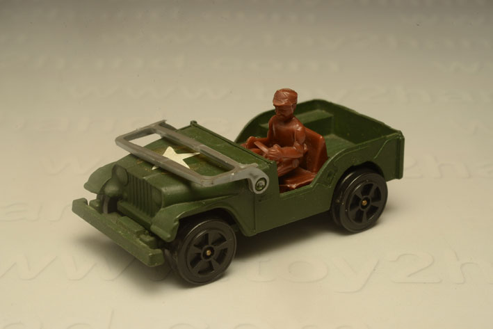 รถเหล็ก Corgi Junior No.76B Willys Jeep