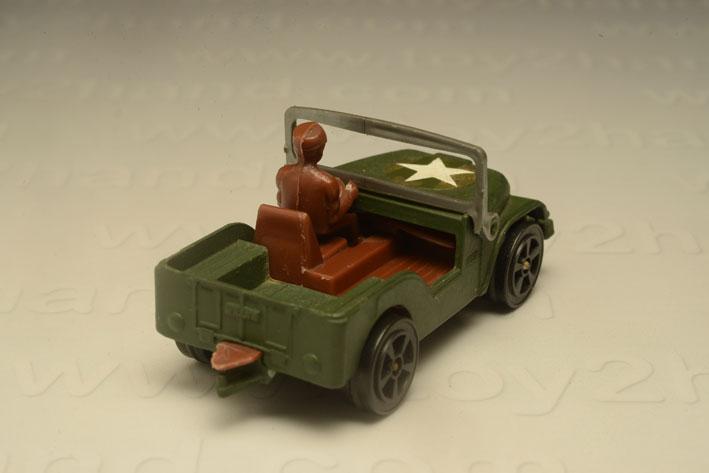 รถเหล็ก Corgi Junior No.76B Willys Jeep 1