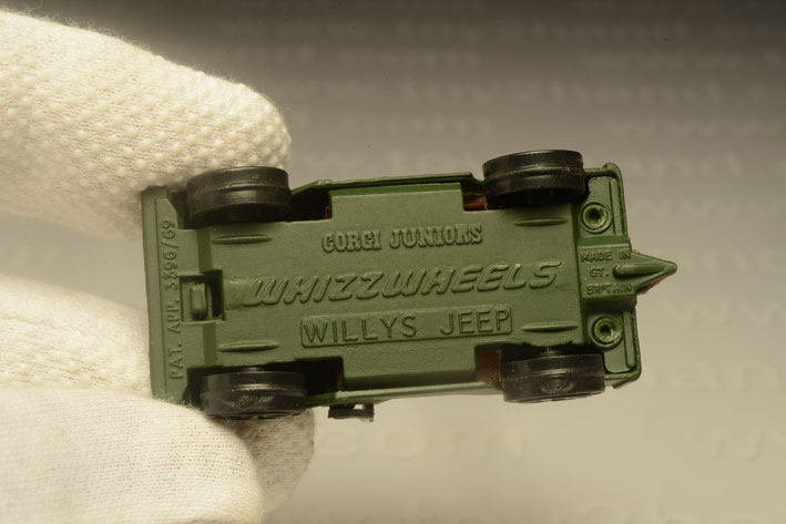 รถเหล็ก Corgi Junior No.76B Willys Jeep 2