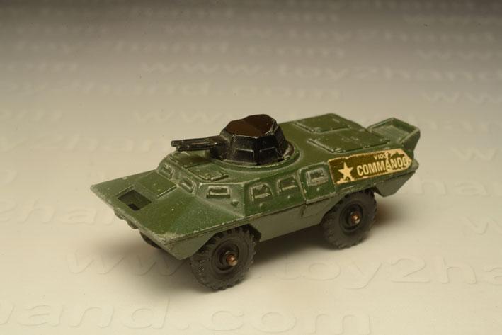 รถเหล็ก Corgi Junior No.159A  Commando V100