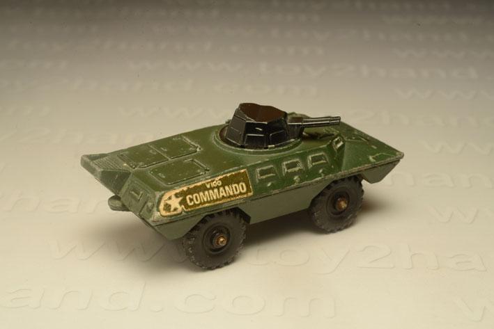รถเหล็ก Corgi Junior No.159A  Commando V100 1