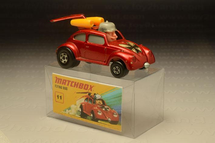 รถเหล็ก Matchbox Superfast Wheels No.11F Flying Bug