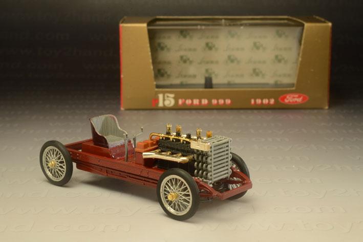 รถเหล็ก Brumm Series ORO15 Ford 999 (1902)