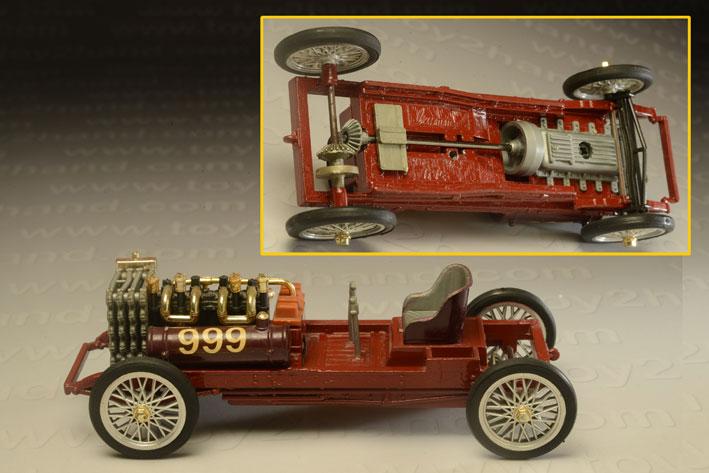 รถเหล็ก Brumm Series ORO15 Ford 999 (1902) 2