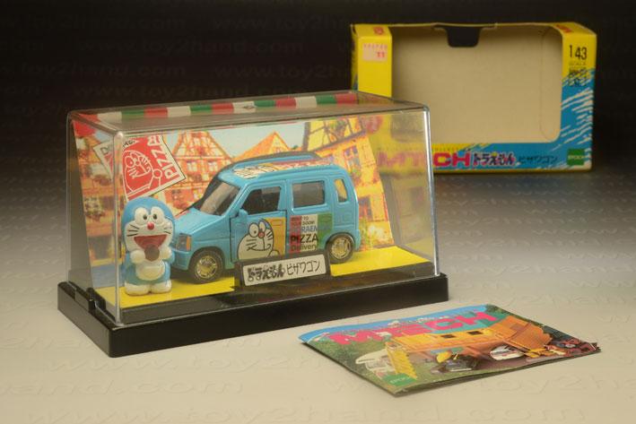 รถเหล็ก M-Tech No. MMOIC – Suzuki Wagon R Doraemon Pizza Delivery