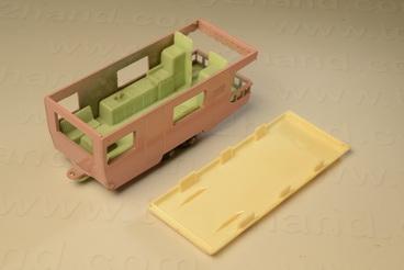 รถเหล็ก Matchbox Regular Wheels No.23C Trailer Caravan 1