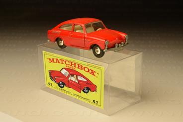 รถเหล็ก Matchbox  Regular  Wheels No.67B Volkswagen 1600TL