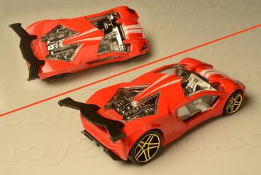 รถเหล็ก Hot Wheels No.2010-28 Impavido 1 1