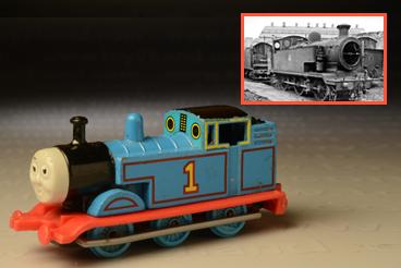รถเหล็ก ERTL No.2380 Q Thomas the Tank Engine