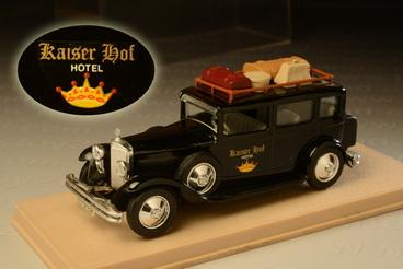 รถเหล็ก Eligor No.1044 – 1931 Mercedes Limousine D'Hotel Kaiser