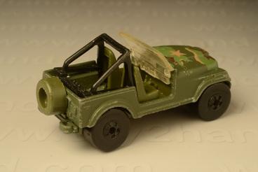 รถเหล็ก Hot Wheels No.3259 Jeep CJ-7 1
