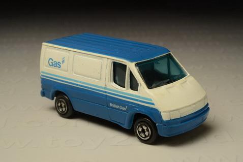 รถเหล็ก Corgi Junior - Ford Transit British Gas Van (1986-2003)