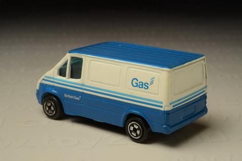รถเหล็ก Corgi Junior - Ford Transit British Gas Van (1986-2003) 1