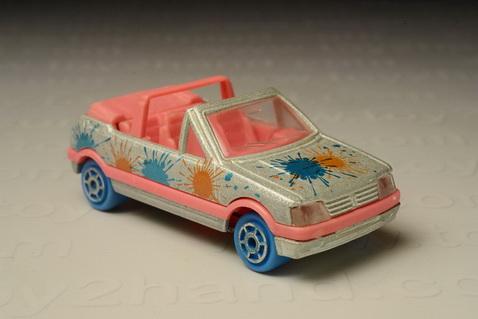 รถเหล็ก Majorette No.281/210 Peugeot 205 GTI  Cabriolet 1986