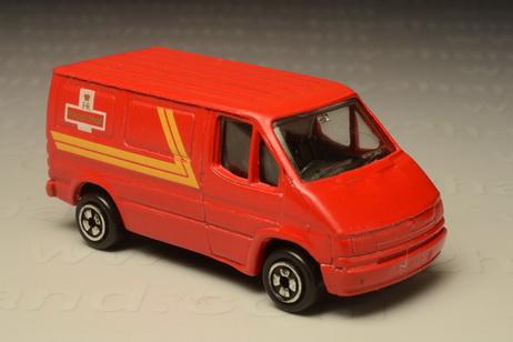 โมเดลรถเหล็ก Ford Transit Royal Mail (1986-2003)