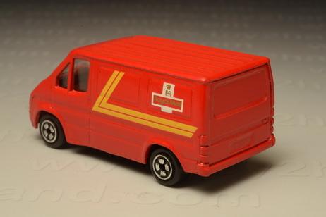 โมเดลรถเหล็ก Ford Transit Royal Mail (1986-2003) 1