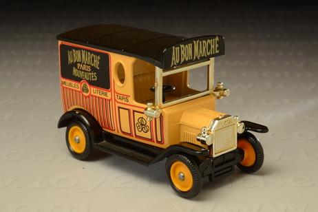 โมเดลรถเหล็ก Ford Model T Van (Au Bon Marche)