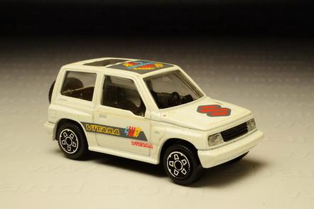 โมเดลรถเหล็ก Suzuki Vitara (First Edition 1998)