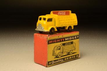 โมเดลรถเหล็ก Coca-Cola Truck