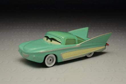 Flo, (Diecast from Cars Movie), Mattel