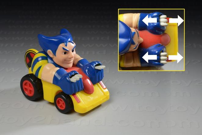 Wolverine Race Car Buddies