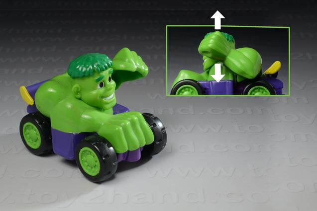Hulk Race Car Buddies