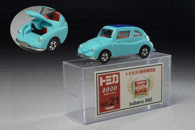 Subaru 360 (30Years Anniversary), Tomica no.21