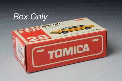 Tomica Original Box No.28, Crown Taxi 1