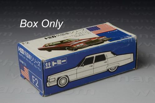 Tomica Original Box No.F 2 (Foreign Series) 1