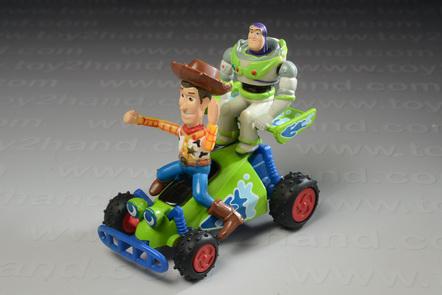Woody  Buzz RC Mini Buddies Diecast
