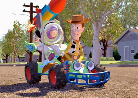 Woody  Buzz RC Mini Buddies Diecast 3
