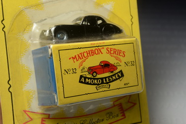 Jaguar XK140, Matchbox Regular Wheels no.32a (Reproduction), Made in Thailand By Tyco Toys Inc. year 1