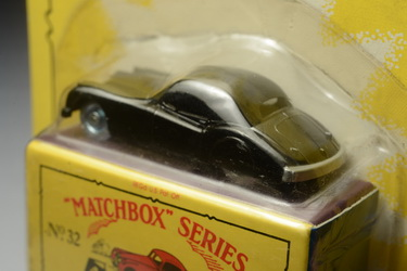Jaguar XK140, Matchbox Regular Wheels no.32a (Reproduction), Made in Thailand By Tyco Toys Inc. year 2