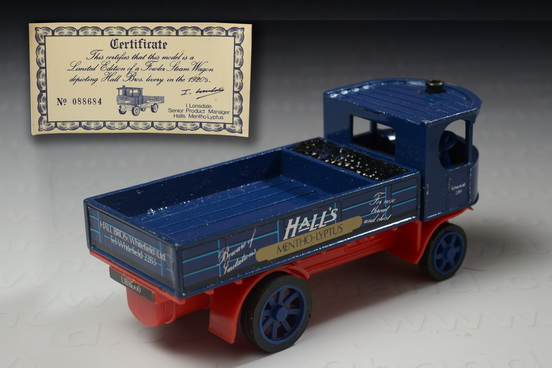 1920 Fowler Steam Engine, Made in China by Halls Bros.(Whitefield)Ltd.England, Limited Edition 08868 1