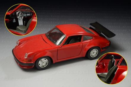 1973 Porsche 911, Bburago 112, Made in Italy year 1997, 18.5 cm.long 1:24