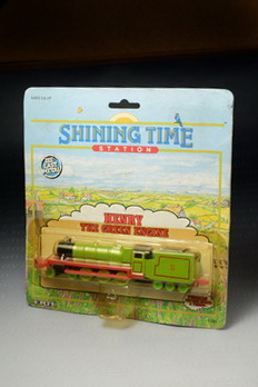 Henry the Green Engine (from Thomas the Tank Cartoon), ERTL no.1191, Made in China by The ERTL Compa