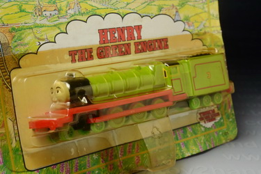 Henry the Green Engine (from Thomas the Tank Cartoon), ERTL no.1191, Made in China by The ERTL Compa 1