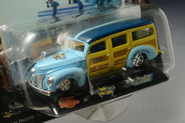 1940 Ford Woody Wagon (The Beach Boy), Racing Champion no.16, Made in China by Brother Records,Inc.y 1