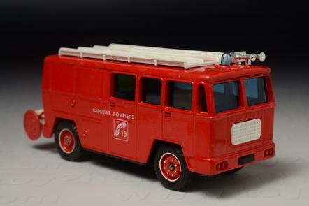 Fourgon Mixie Fire Engine