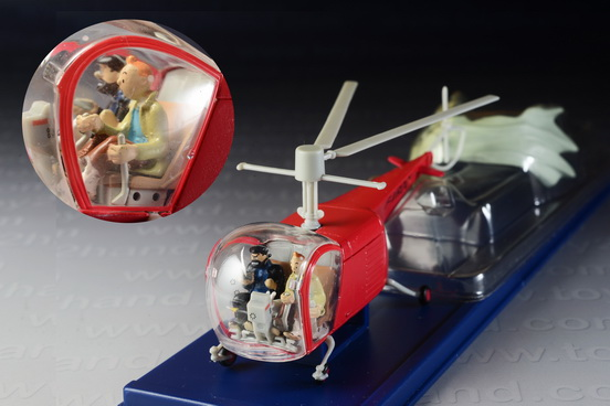 Tintin Bell Helicopter 1947 from The Calculus Affair 1