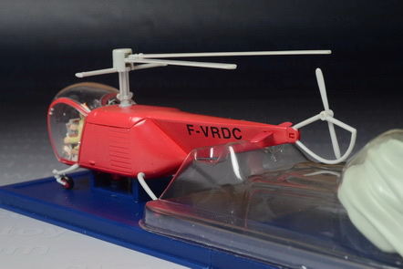 Tintin Bell Helicopter 1947 from The Calculus Affair 2
